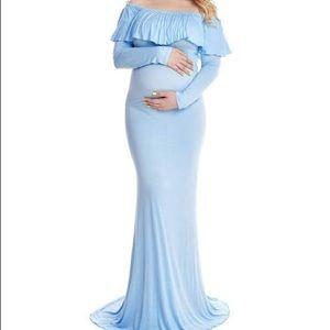 b5d12ceade285 Women Cute Maternity Dresses For Baby Shower on Poshmark